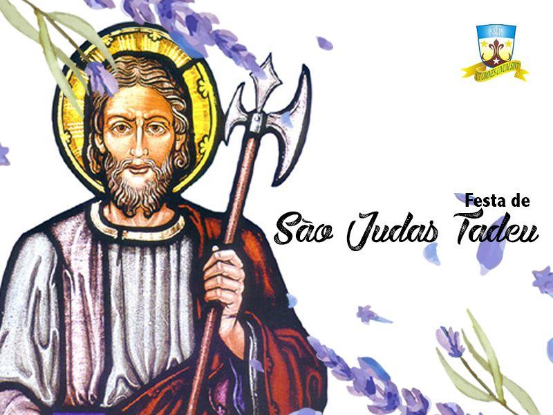 Festa de São Judas Tadeu começa nesta quarta-feira