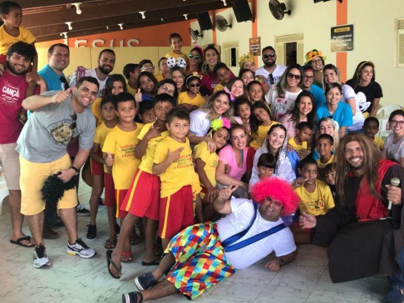Pastoral da Alegria realiza ação solidária em Parnamirim-RN