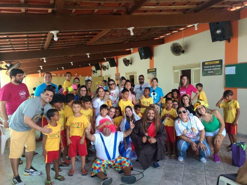 Pastoral da Alegria realiza ação social na Hosped
